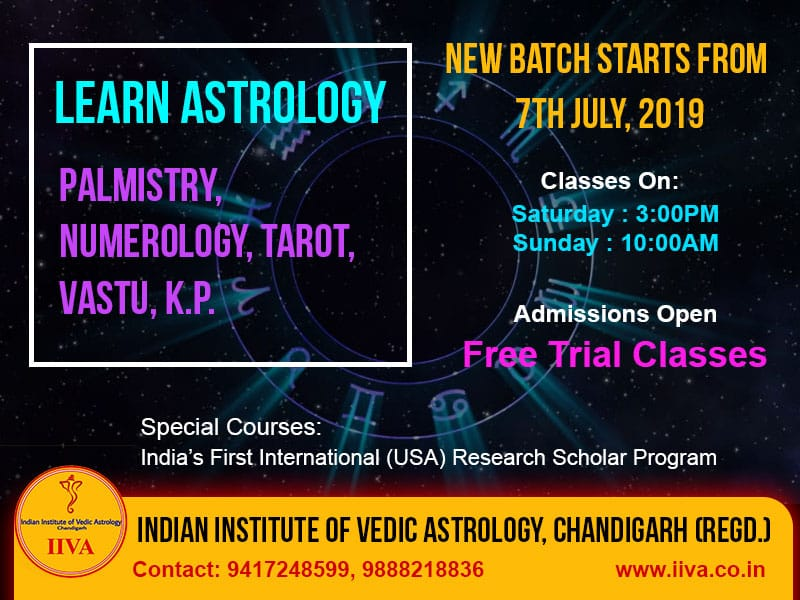 astrology teaching institutes